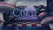 Once Upon a Time in Wonderland logo titlecard générique épisode W1x10