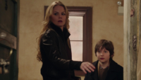 1x16 Emma Swan Henry Mills découverte clés porte ouverte