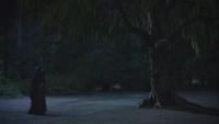 5x05 Ténébreux arbre de Merlin tête levée