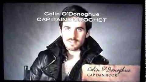 Once Upon A Time CAPITAINE CROCHET PRÉSENTÉ PAR COLIN O'DONOGHUE