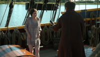 6x04 Belle French Dr Jekyll menace taser matraque Jolly Roger