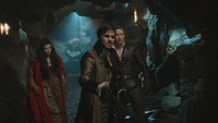 3x22 Scarlett Chaperon rouge Crochet Killian Jones Prince Charmant Charles donjon