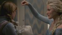 4x01 Anna flocon Elsa cadeau