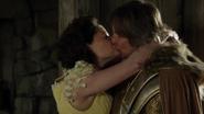 4x22 Belle Rumplestiltskin Réécrits retour maison accueil baiser