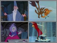 Merlin l'enchanteur Disney 4en1
