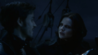 3x01 Pays Imaginaire Jolly Roger Regina Crochet Killian Jones paroles manaces de Greg