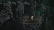 4x11 falaise du Démon Rumplestiltskin Maléfique Cruella d'Enfer Ursula