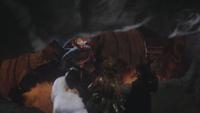 4x12 Chernabog Cruella d'Enfer Ursula Maléfique crevasse Mont Chauve