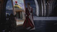 5x12 Cora Reine de Cœur retour chambre royale palais sombre miroir magique caveau armoire à cœurs Pays des Merveilles