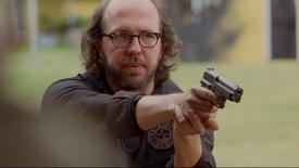 L5x14 Stuart Radzinsky pistolet Daniel Faraday Kate Austen Jack Shephard