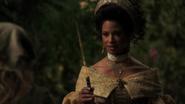 1x04 Marraine la fée aide Cendrillon baguette