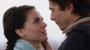 1x18 Daniel Colter Reine Regina jeune regard amoureux
