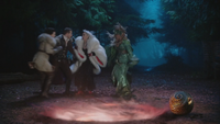 4x16 Blanche-Neige Prince David Charmant Cruella d'Enfer Ursula portail œuf Lily éclosion intervention