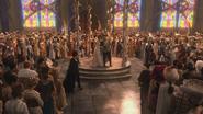 1x01 Méchante Reine Regina Blanche-Neige Prince David Charmant pavillon mariage