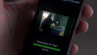 2x14 téléphone Greg Mendell vidéo envoi Regina Mills magie