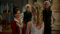 W1x11 Cora Reine de Cœur Tweedledee Anastasia Reine Blanche Rouge Tweedledum début amitié proposition magie sourire