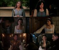 5x04 2x13 2x14 Reine Guenièvre robes vêtements similaire parallèle Milah Raiponce Jacqueline Jack
