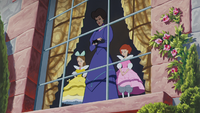 Cendrillon (Disney) 1950 Javotte Madame de Trémaine Anastasie Lucifer apparition belle-famille fenêtre remariage prologue mini