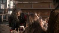 1x17 Sorcière Reine Regina usurpation Jefferson Grace dos