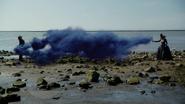 6x08 Méchante Reine Reine Regina dissociée Regina Mills Emma Swan miroir magie aspiration piège plage cygne mer