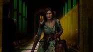 5x16 Dorothy Gale arrivée retour Pays d'Oz couloir Palais Cité d'Émeraude intervention interruption irruption