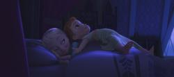 La Reine des Neiges (Disney) Elsa Anna enfant chambre bonhomme de neige