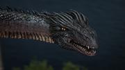 Lily transformada en Dragón