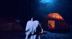 """4x13 Scène Coupée """"Camp Site"""" """"Campement"""" Cruella d'Enfer tente éclairée"""