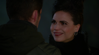 6x13 Méchante Reine dissociée sourire Robin retour