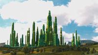 Le Monde Fantastique d'Oz 2013 Cité Palais d'Émeraude jour