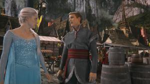 4x01 Elsa Reine des Neiges Kristoff ville Arendelle