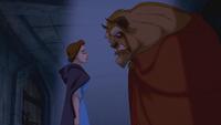La Belle et la Bête (Disney) 1991 parole promesse accord marché conclu lumière prison donjon cachot captivité