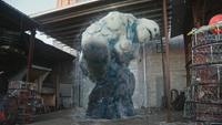 4x01 Guimauve Marshmallow création Elsa Reine des Neiges