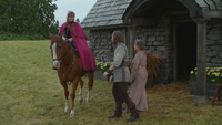 4x02 Anna départ cheval ferme Prince Charmant David berger Ruth