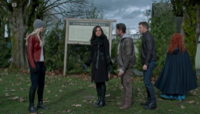 5x21 Regina Mills Robin (Storybrooke) David Nolan Emma Swan Merida mairie de Storybrooke plan