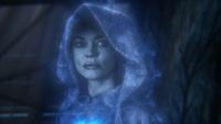 3x18 Cora fantôme âme esprit ectoplasme visage