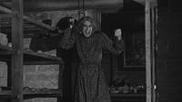 Psychose (film) 1960 Norman Bates révélation déguisement travesti couteau sourire