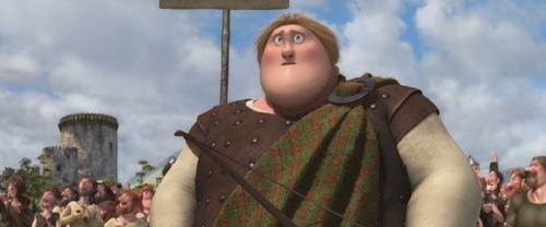 Rebelle Brave Disney héritier fils Lord MacGuffin jeux tournoi tir à l'arc