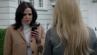 4x18 Regina Mills Emma Swan message Cruella d'Enfer otage Henry obligation meurtre Auteur
