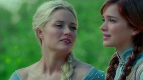 Once Upon A Time, saison 4 - Premières minutes avec Anna & Elsa!
