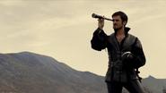 2x04 Killian Jones Capitaine Crochet télescope longue vue