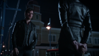 5x08 Emma Swan Killian Jones Capitaine Crochet discussion évènements Camelot
