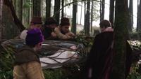 1x01 Sept Nains cercueil de verre Blanche-Neige Prince David Charmant
