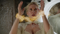 4x07 Ingrid tour de l'horologe miroir Trolden flammes poignés expression visage appeurée
