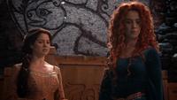 5x09 Reine Elinor Merida couronnement interruption Sorcière de DunBroch