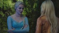 4x03 Elsa Emma Swan Reine des Neiges mystères mensonge Anna