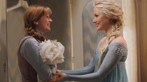Once Upon A Time 4x01 Elsa und Anna von Arendelle (german)