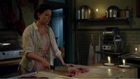 4x02 Bo Peep Storybrooke bouchère viande couteau