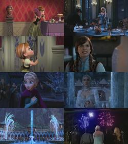 4x08 anecdotes références à Disney La Reine des Neiges Elsa Anna Arendelle Ingrid Emma Swan chocolat magie