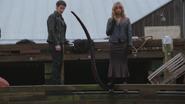 4x15 Killian Jones Capitaine Crochet tentacule Ursula quai Storybrooke